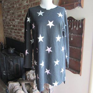 Joe Boxer Juniors' Nightgown - Stars Size Med NWT